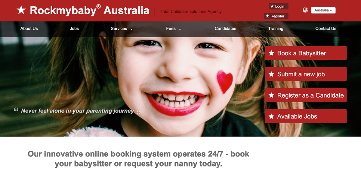Rockmybaby Childcare Recruitment Agency Rockmybaby Total Childcare Solutions